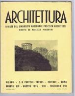 ARCHITETTURA / FASCISMO - MASSIMO PIACENTINI - 1935 - TRENTO / TORRE LITTORIA MILANO / MOSTRA SPORT ITALIANO A MILANO - Art, Design, Decoration