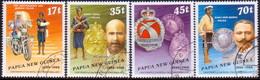 PAPUA NEW GUINEA 1988 SG #571-74 Compl.set Used Royal Constabulary - Papua New Guinea