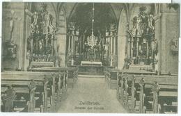 Zwillbrock 1930; Inneres Der Kirche - Gelaufen. (Verlag?) - Vreden
