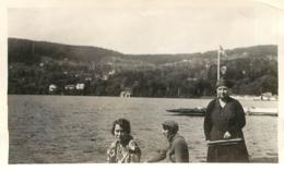 LAC DE GERARDMER 1931  PHOTO ORIGINALE 11.50X7CM - Orte