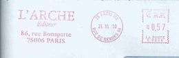 Ema Neopost R - Rue Bonaparte - Enveloppe Entière - Histoire