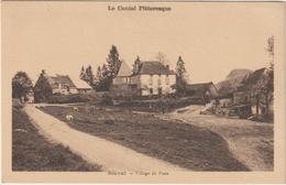 (ALBUM )CANTAL , , SAUVAT , Village De Poux - France