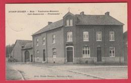 """Eigenbilzen - Huis """" Vandooren-Meesters """" - Café-Restaurant - Fruithandel - 1910 ( Verso Zien ) - Bilzen"""