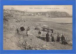 50 MANCHE - GRANVILLE Le Séchage De La Morue, Pionnière - Granville