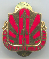 Space Cosmos Universe, Rocket -  Vintage Pin, Badge, Abzeichen, Enamel, D 30 Mm - Space