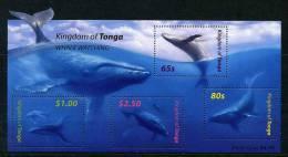 Lot 78 - B 14 - Tonga ** PA N° 46 En Bloc - Cétacés : Les Baleines - Tonga (1970-...)