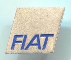 FIAT  -  Car, Auto, Automotive, Vintage Pin, Badge, Abzeichen, Button Hole - Fiat