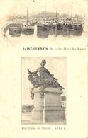 1914- C P A Allemande  SAINT-QUENTIN Der Hafen Des Kana's - Saint Quentin