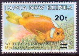 PAPUA NEW GUINEA 1989 SG #602 20t On 17t Used - Papua New Guinea