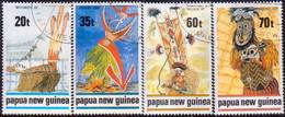 PAPUA NEW GUINEA 1989 SG #603-06 Compl.set Used Traditional Dancers - Papua New Guinea