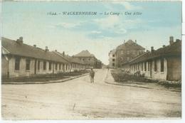 Wackernheim 1925; Le Camp. Une Allée - Geschrieben. (Verlag?) - Mainz