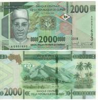 GUINEA  New 2'000  Francs Guinees  PNew   (2018)  UNC - Guinea