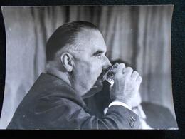 Photo De Presse Originale AGIP Robert Cohen - Georges Pompidou ...  Septembre 1964  KX - Personalità