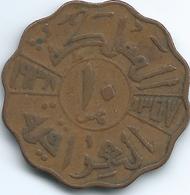 Iraq - Ghazi - AH1357 (1938) - 10 Fils - KM103b - Iraq