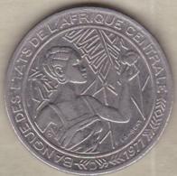 Banque Des Etats De L'Afrique Centrale. 500 Francs 1977 D Gabon - Gabon
