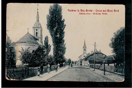 BOSNIA Pozdrav Iz Bos Broda Srbska Crkva Ca 1920 OLD POSTCARD - Bosnia And Herzegovina