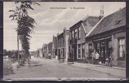's-GRAVENDEEL 1929 ? Zuid-Voorstraat Zwart/wit Blanco A. Overhoff W 4908 29 - Nederland