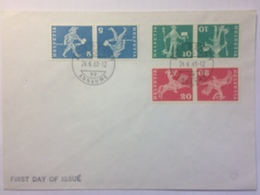 SWITZERLAND 1968 Post Men FDC Bern Handstamp - Switzerland
