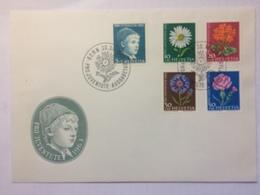 SWITZERLAND 1963 Pro Juventute FDC Bern Handstamp - Covers & Documents