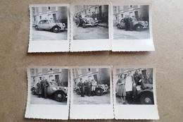 CITROEN TRACTION - 6 Photographies ( Voiture, Auto, Car ) - Auto's