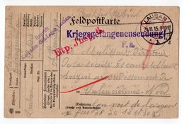 FRANCHISE MILITAIRE  LAUBAN  CARTE PRISONNIER DE GUERRE 1915 - Marcophilie (Lettres)