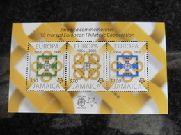 Europa Cept 2006; Jamaika.50 Jahre Cept; Block; Postfrisch**; Mnh - Europa-CEPT