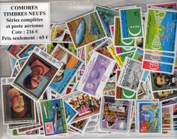 Comores. Lot De Timbres Neufs.séries Complètes Et Poste Aérienne. 30% De La Cote - Comores (1975-...)