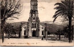 ALGERIE - BLIDA - L'église Et La Place - Blida