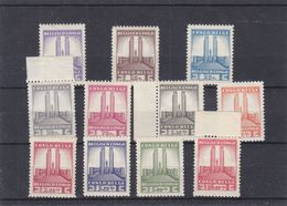 Congo Belge - COB 214 / 24 ** - MNH - Monuments - Valeur 90 Euros - Congo Belge