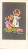 Devotie - Devotion - Communie Communion - Rose Anne Callewaert - Menen Barakken 1960 - Communion