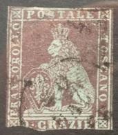Italy - Tuscany 1851 9 Crazie - Tuscany