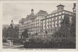 ILES BORROMEES 1920 ? Grand Hôtel Gros Plan - Italy
