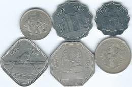 Iraq - Republic - AH1402 (1982) 5, 10, 25, 50, 250 & 500 Fils - Restoration Of Babel - (KMs159-163 & KM165) - Iraq