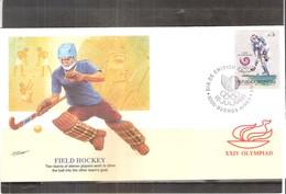 Field Hockey - JO Seoul 1988 - FDC Argentine (à Voir) - Hockey (sur Gazon)
