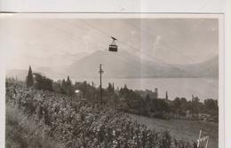 CPA-74-Haute Savoie- ANNECY- Téléphérique Du Veyrier Du Lac Au-dessus Du Village De Veyrier- - Veyrier