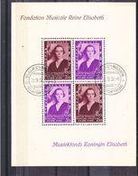 Belgique - COB BF 7 Oblitéré - Reine Elisabeth - Musique - Valeur 45 Euros - Blocs 1924-1960