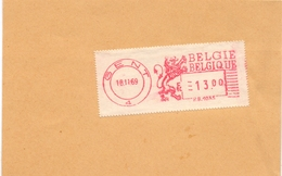 Stempel Cachet - Gent 1969 - Franking Machines