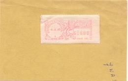 Stempel Cachet - Brussel Bruxelles 1969 - Franking Machines
