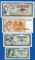 Yougoslavie  10  Billets - Yougoslavie
