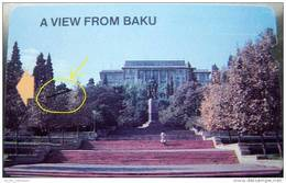 Print ERROR (!) Erreur Fehler On The Magnetic Card Carte Karte From AZERBAIJAN Aserbaidschan L'Azerbaïdjan - Azerbaïjan