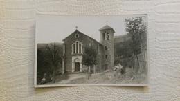 B6/carte Photo -d'une église -environs De Hauterives - Francia