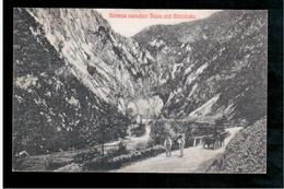 BOSNIA Strasse Zwischen Jajce Und Banjaluka Ca 1915 OLD POSTCARD - Bosnia And Herzegovina
