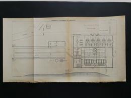 ANNALES PONTS Et CHAUSSEES (Dep13)- Plan De Tramways éléctriques De Marseille -1902 (CLC22) - Máquinas