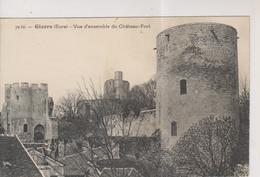 CPA-27-Eure- GISORS- Vue D'ensemble Du Château-Fort- - Gisors
