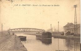 *BAUVIN. LE PONT SUR LA DEULE - France