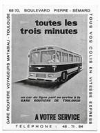 Toulouse Publicité Gare Routière Voyageurs Matabiau - Toulouse