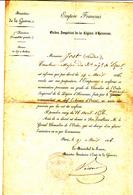Ordre Imperial De La Legion Honneur 1856 - Historical Documents