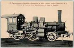 52956116 - 1B Personenzug-Verbund-Lokomotive Preuss. Staatsbahn - Trains