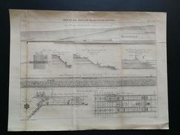 ANNALES PONTS Et CHAUSSEES (Dep 62) - Plan De Port à Boulogne-sur-mer - Graveur Macquet - 1893 (CLC26) - Nautical Charts
