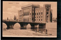 BOSNIA Sarajevo Rathaus Ca 1920 OLD POSTCARD - Bosnia And Herzegovina